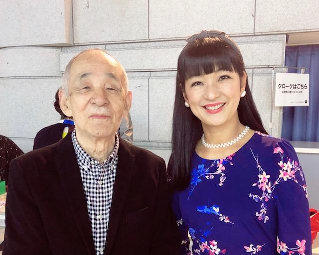 inoueyukari.com | ジャズピアニスト 井上ゆかり | 神津善行先生と。